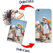 Individuelle Handy Hülle Case Huawei Y 600 mit eigenem Foto Druck TPU Elastisch