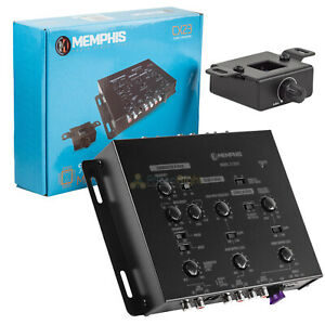Memphis Audio 3 Way Electronic Crossover w Remote Level Control CX23 Processor