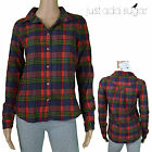 Just Add Sugar Locked Out Of Heaven Shirt Long Sleeve Top Button Flannelette