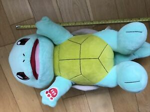 Build a Bear Plush Squirtle Pokemon Soft Toy
