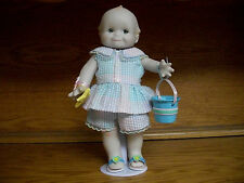 "Danbury Mint Jesco 1997 Porcelain Kewpie Doll ""A Gift From the Sea"""