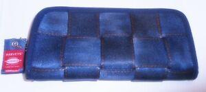 HARVEYS SEATBELT BAG BLUE JEAN CLUTCH WALLET L.E. GORGEOUS & RARE!