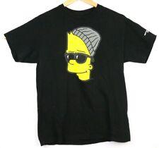 The Simpsons NEFF Collaboration Bart Simpson EL BARTO Black SS T Shirt Size M