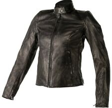 Women's Mike Leather Jacket Dainese Black 42 Euro NEW