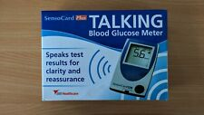 SensoCard Plus - Talking Blood Glucose Meter - Ideal for Visually Impaired