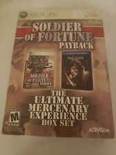 Soldier Of Fortune Payback Sealed Box Set (XBOX 360)