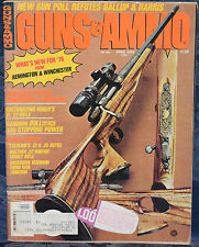 Vintage Magazine GUNS & AMMO April 1976 !!! IVER JOHNSON BUNTLINE CARBINE !!!