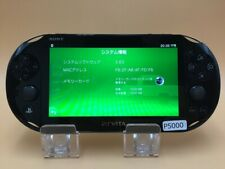 P5000 Sony PS Vita PCH-2000 console Black Japan Express