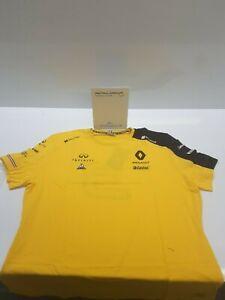 Genuine Renault Sport F1 Mens T-shirt Ricciardo 7711940942 XL