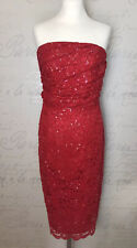 Planet Vintage 20s Style Flapper Charlston Downton Bead Sequin Dress Size 16