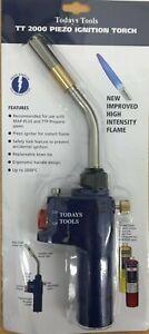 TT 2000 PIEZO SELF - IGNITION HAND TORCH BLOW TORCH FLAME ADJUSTMENT