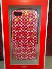 COACH Signature iPhone 5 Case/Cover-#68970B - Pink