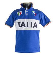 t-SHIRT POLO MAGLIA ITALIA ROYAL ADULTO E BAMBINO