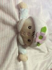 Douglas Baby Lil' Snugglers CLAIRE lovey blankie Pink Velour DOLL Soft Toy Plush