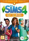 Les Sims 4 Get to Work Windows PC / JEU Mac GB PAL - Neuf et emballé