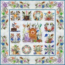 Octopuses Garden Block of the Month Applique Pattern Set