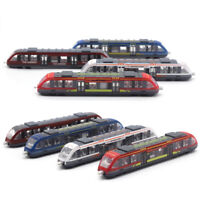 1/55 Alloy Subway Model Diecasts High Speed Railway Train Metal Vehicles Toy