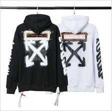 Off White Tide brand fashion golden ratio personalized print terry sweatershirt