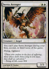 Time Spiral Serra Avenger - Foil x1 Moderate Play, English Magic Mtg M:tG