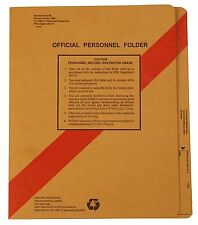 NEW Smead SF66 Personnel File Folders with Coated Fasteners, Letter size 100/Box