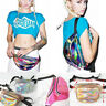 Bum Bag Fanny Pack Festival Money Wallet Travel Holiday Waist Belt Pouch Shiny