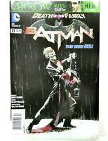 DC BATMAN (New 52) #17 Death of the Family JOKER NEWSSTAND Variant VF+ Ship FREE