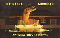 Kalkaska, MICHIGAN - National Trout Festival - 1967 - Fishing