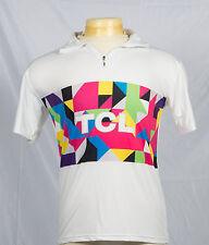 TCL The Creative Life Mens T-Shirt Sz M White Graphics Short Sleeve