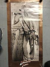 Vintage Poster Indiana Jones Harrison Ford Movie 1984