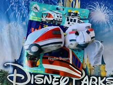 2021 Disney Wishables PLUSH Theme Park Transportation Series PARKING LOT TRAM