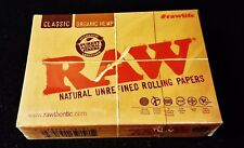 1 Deck of Raw Rolling Papers Plastic Coated Playing Cards with Free Shipping