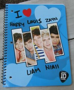 One Direction Wide ruled notebook