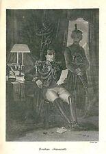 1822 LOUIS BERTHIER Napoleon Prince of Wagram Neuchâtel Valangin Egypt Egitto