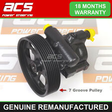POWER STEERING PUMP RENAULT ESPACE 1.9 DCI 2000 TO 2007 (NO SURCHARGE) 7 Groove