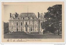 45 Chateau de CERF BOIS - Collection L. Marchand - dos simple