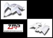 NEW YAMAHA RAPTOR 700 06 - 12 WHITE PLASTIC FRONT AND REAR FENDER SET PLASTICS
