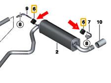 BMW 1 2 3 4 X Series & MİNI F Rear Exhaust Rubber Mounting (JS)