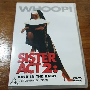 Sister Act 2 Back in the Habit DVD R4 VERY GOOD - FREE POST