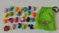 24 x VGC GOGOS Crazy Bones Kids Boys Girls Collection Collectable Figures Toys