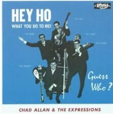 Chad Allan & the Expressions Hey CD Canadian garage Guess Who Randy Bachman BTO