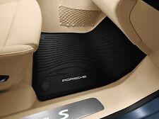 Porsche Macan 95B All-weather floor mats Black 2014+ OEM 95B044800411E0