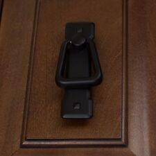 """1012-BK 2-1/4"""" CC Old Mission Vertical Cabinet Pull Drop Handle  - Matte Black"""