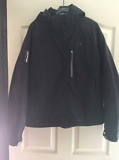 Woman's Under Armor Snow Jacket Black Size Large