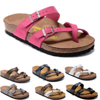Women's Shoes Birkenstock Mayari Birko Flor Sandals Mens Slides Sole Block