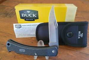 Buck Knives 110 Folding Hunter LT Knife Made in U.S.A.