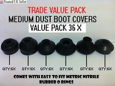 UNIVERSAL MEDIUM TRACK ROD END BALL JOINT RUBBER DUST BOOT COVERS TRADE PACK 36X