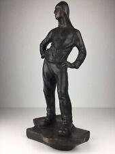 Constantin Meunier ( 1831 - 1905 ) Bronze Kunst Figur Skulptur Nachguss? selten