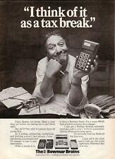 Bowmar Brains Calculators--1973 Magazine Advertisement