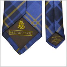 """Robert Talbott Best of Class Tie Silk Plaid Tartan USA Business Office 3.25"""" NEW"""