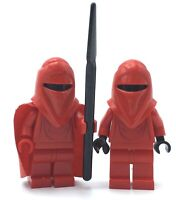 LEGO LOT OF 2 STAR WARS MINIFIGURES IMPERIAL RED GUARD COLLECTIBLE TOY FIGS